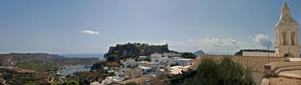 Chora the capital of Kythira