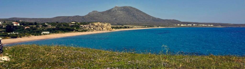 Kythira island paroramic view
